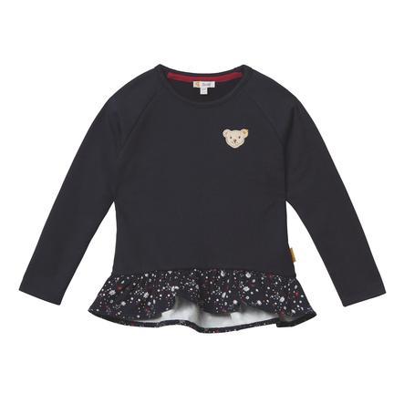 Steiff Girls Sweatshirt Rüschen, black iris