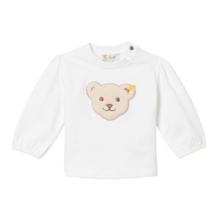 Steiff Girls Sweatshirt, b right  white