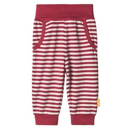 Steiff Girls pantaloni da sudore, rosso barbabietola