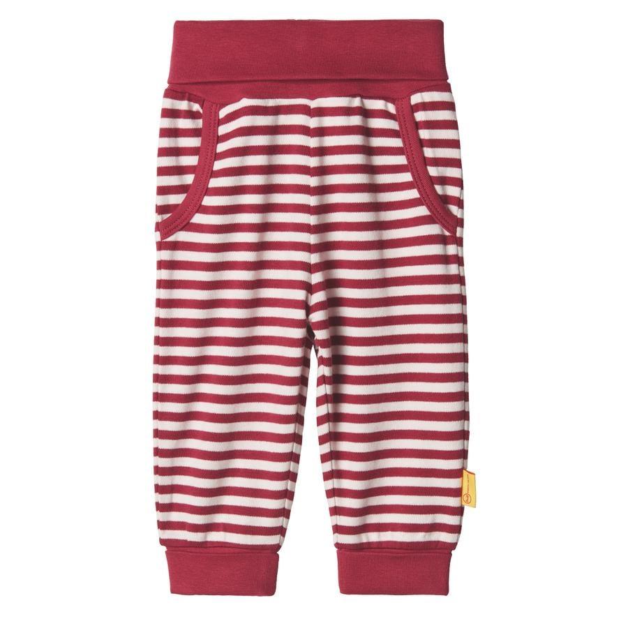 Steiff Girls pantalon de survêtement, rouge betterave