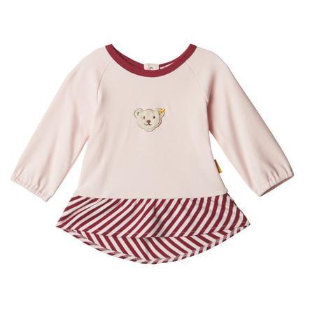Steiff Girls Košile s dlouhým rukávem, barely růžová