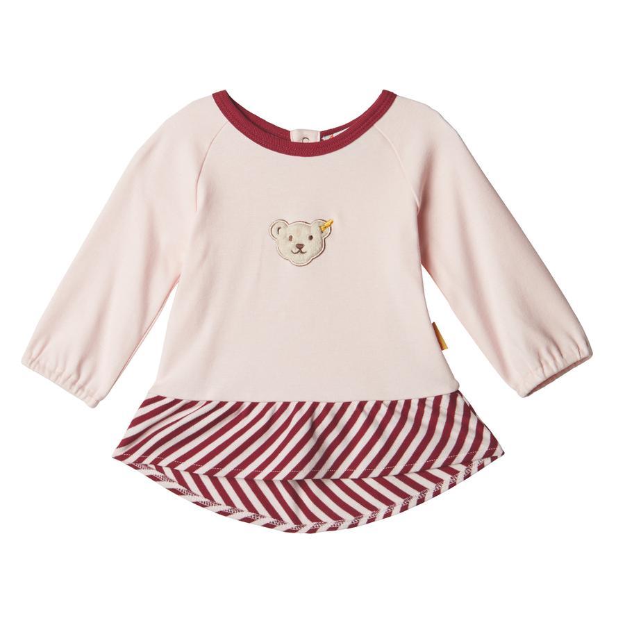 Steiff Girls Koszula z długim rękawem, barely różowa