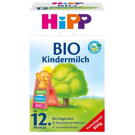 HiPP Bio-Kindermilch ab dem 12. Monat 800 g