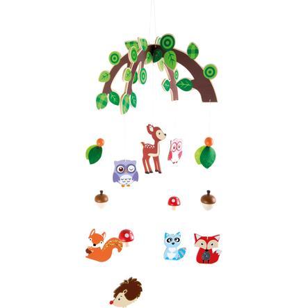 small foot® Mobile animaux de forêt bois