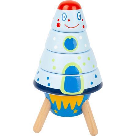 malá noha stohovací raketa Space