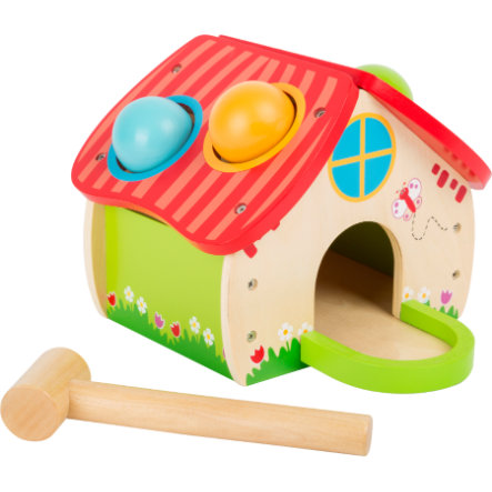 small foot  knock house