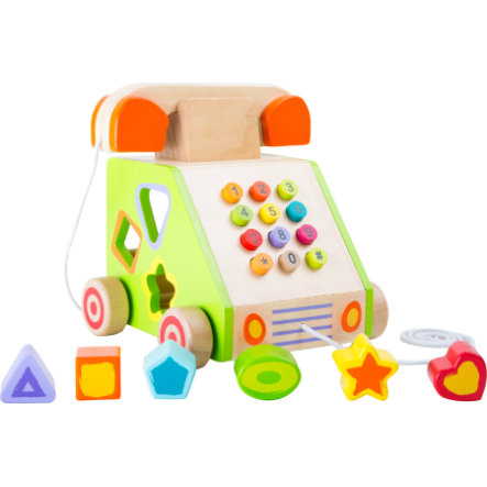 malá noha Tahání a motorické hračky Telefon