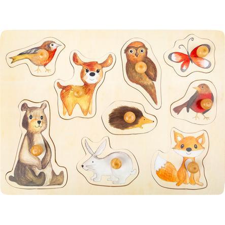small foot® Puzzle animaux de forêt bois 9 pièces