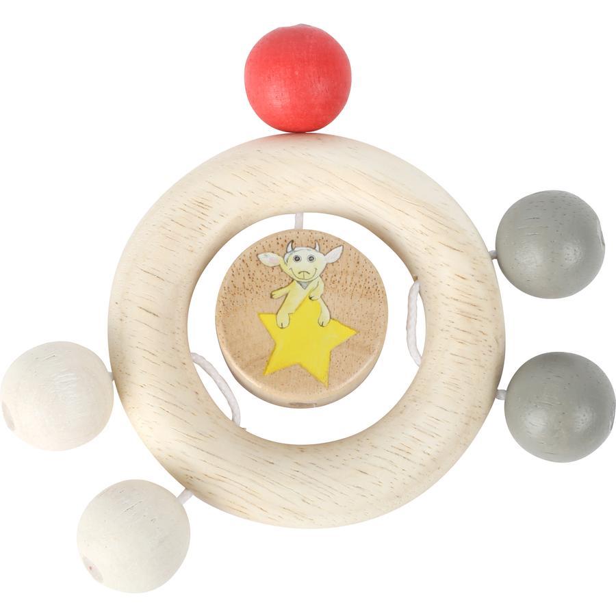malá nožní ruka Ludwig s perlami