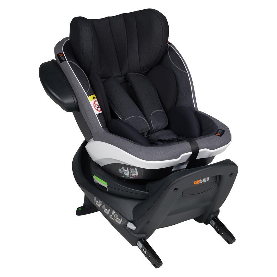 BeSafe Siège auto pivotant iZi Twist i-Size gr.1 Midnight Black Mélange 2020