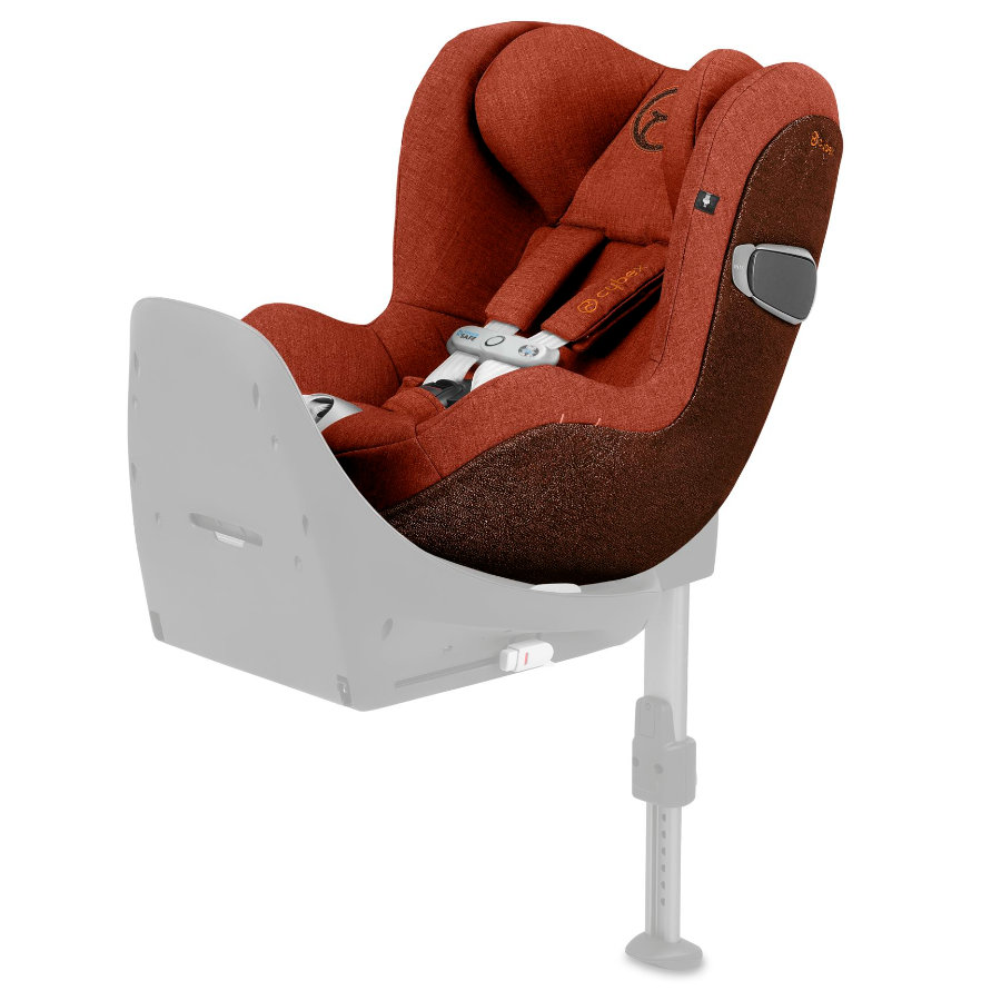 cybex PLATINUM Kindersitz Sirona Z i-Size Plus Autumn Gold-burnt red