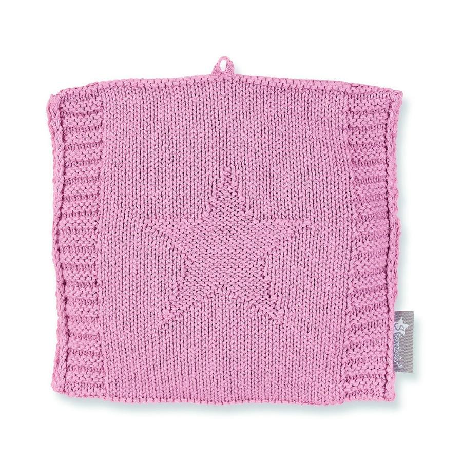 Sterntaler Strick-Wärmesäckchen rosa