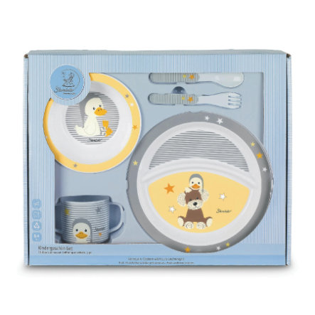 Sterntaler Kit vaisselle et couverts enfant Hanno et Edda