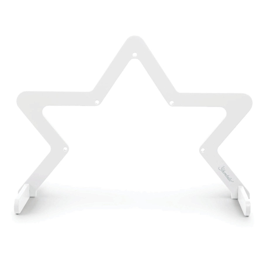 Sterntaler Arche de jeu étoile bois blanc