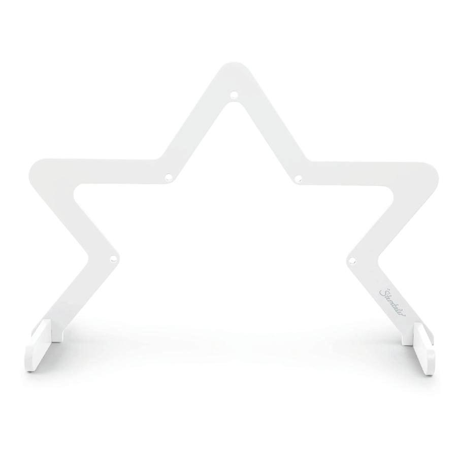 Sterntaler Play bow star dřevo bílá