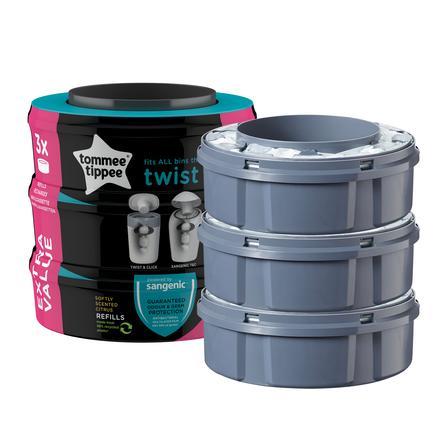 Tommee Tippee Twist & Click Nachfüllkassette 3er Pack