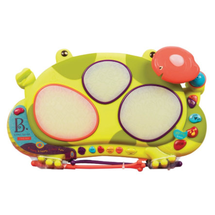 B. toys - Batterie musicale enfant grenouille The Frog Drum