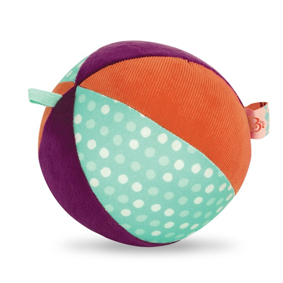 B.toys Patchwork Stoffball, bunt
