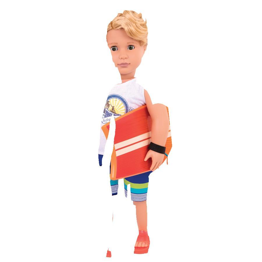 Our Generation - Puppe Surfer-Junge Gabe, 46 cm