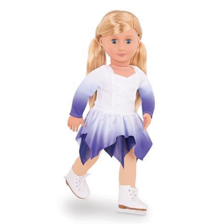 Our Generation - Dukke Katelyn Deluxe skøjteløb, 46 cm