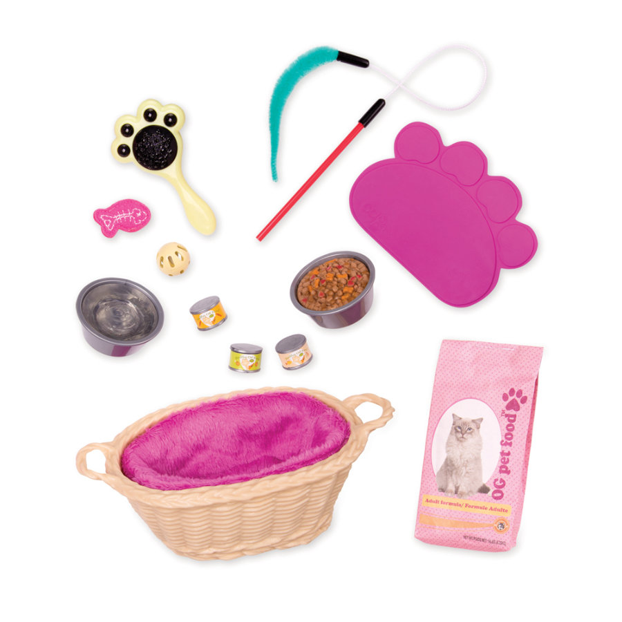 Our Generation - Accessoires pour poupée entretien de chat
