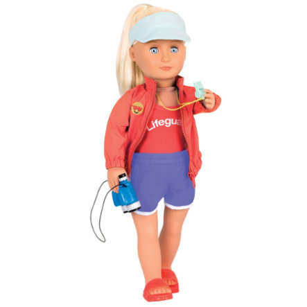 Our Generation - Doll Seabrook Professional Life Guard, 46 cm