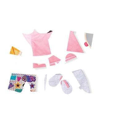 Our Generation -Outfit Skate board HIP HOP med klistremerker