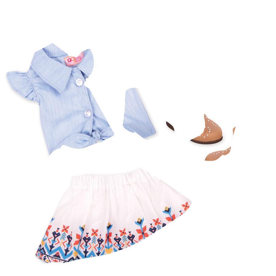 Our Generation -Outfitstøvler og country nederdel