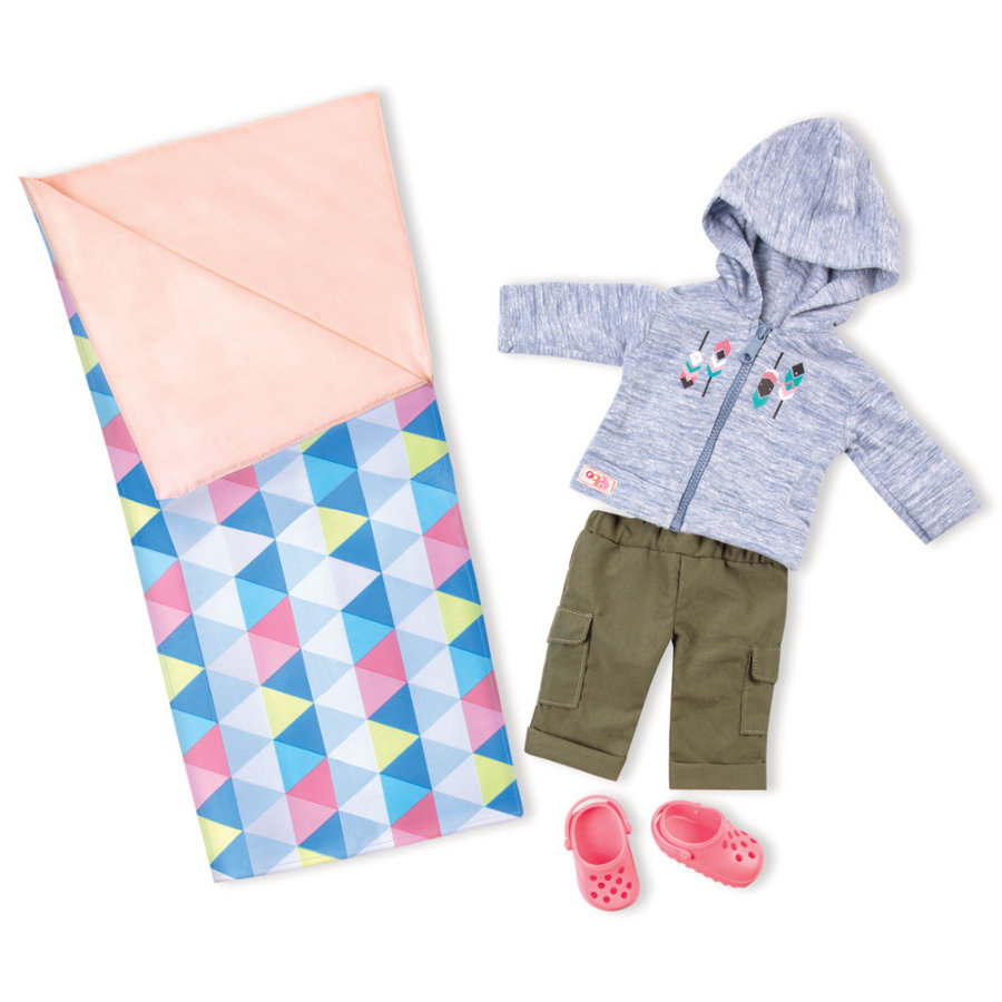 Our Generation -Outfit Deluxe Camping
