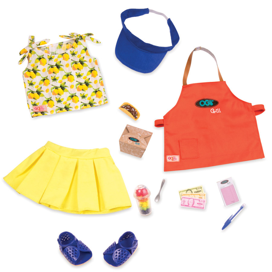 Our Generation - Outfit Deluxe Zestaw na grilla
