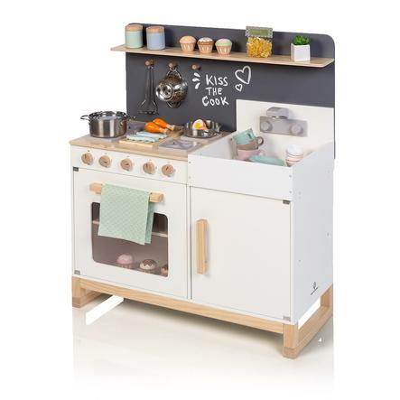 MUSTERKIND® Spielküche Linum weiß/natur