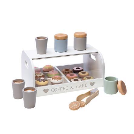 MUSTERKIND® Coffee en Cake Box Vanilla wit/meerkleurig