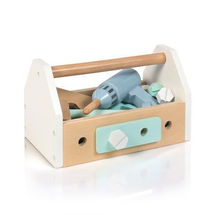 MUSTERKIND Fagus -työkalupakki, valkoinen / sininen / minttu