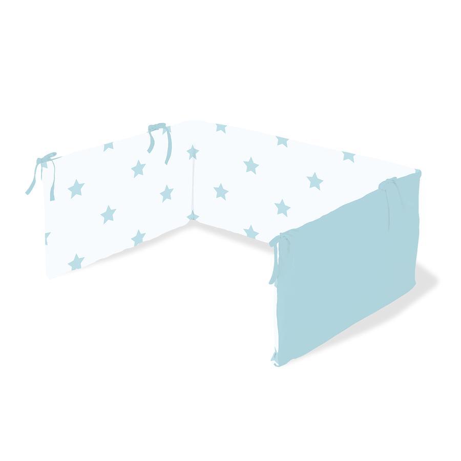 Pinolino Nestchen für Kinderbetten Sternchen hellblau