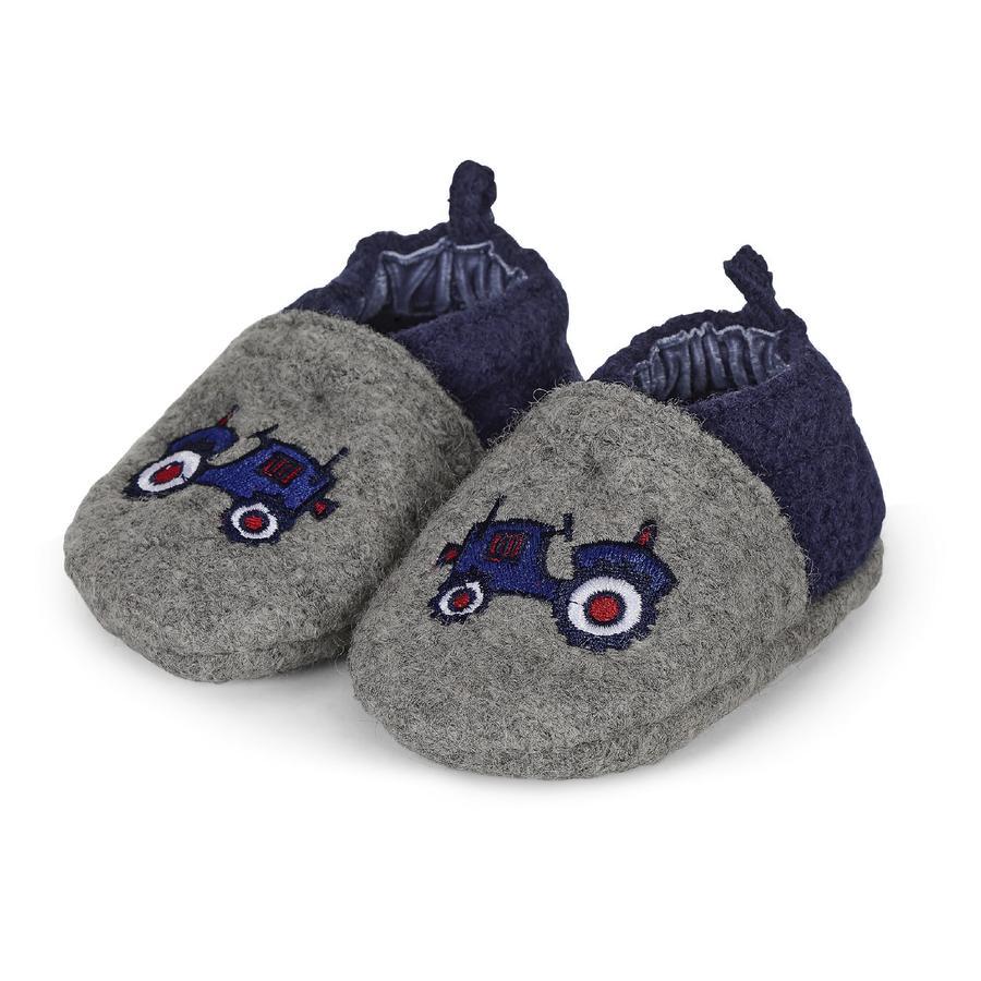 Sterntaler Calzado de bebé para niños gris humo