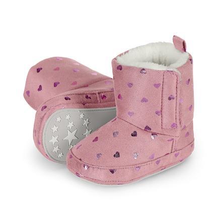 Sterntaler Girls Chaussure de bébé rose