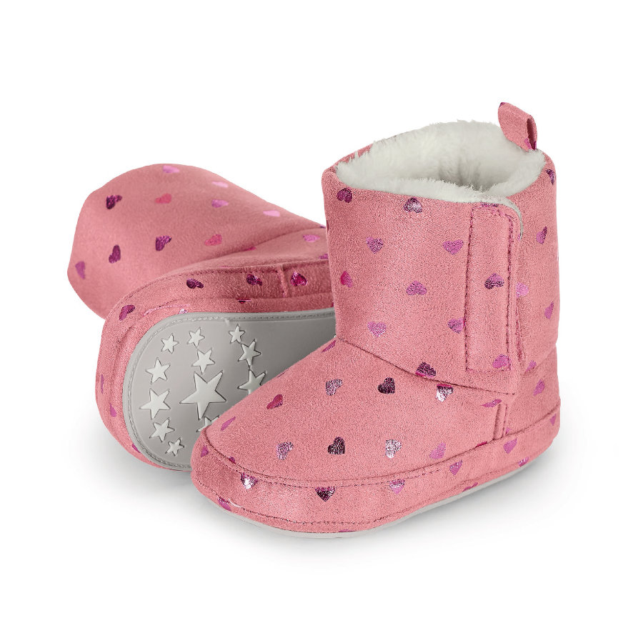 Sterntaler Girls Scarpa bebè rosa