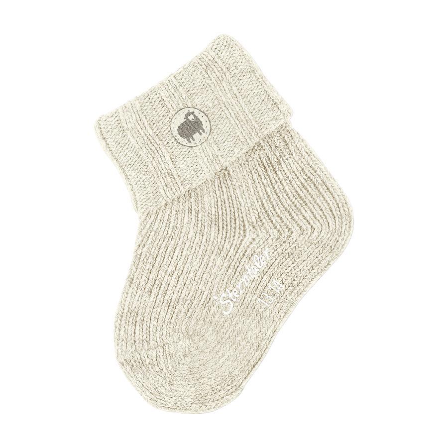 Sterntaler Chaussettes bébé laine écru