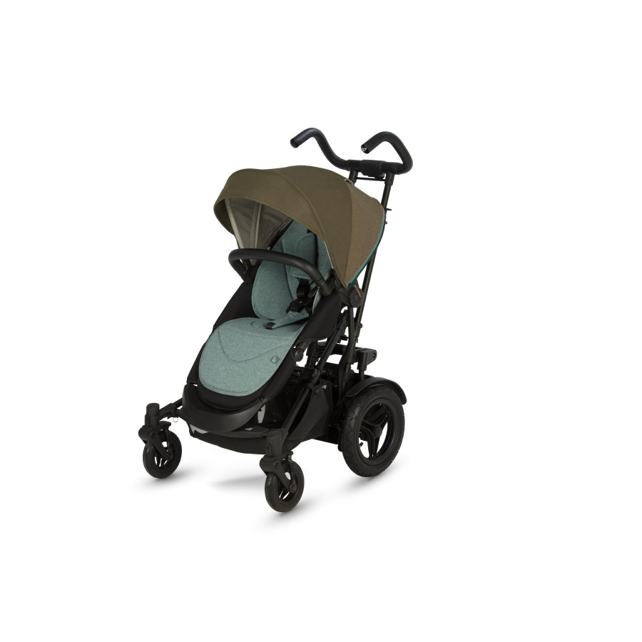 Micralite Sittvagn TwoFold Evergreen