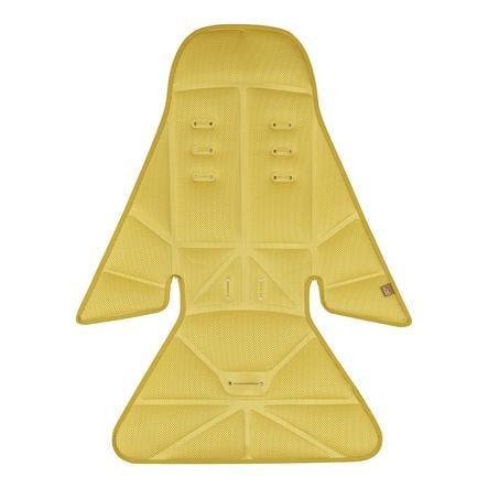 Micralite Cojín de asiento FastFold Safran amarillo