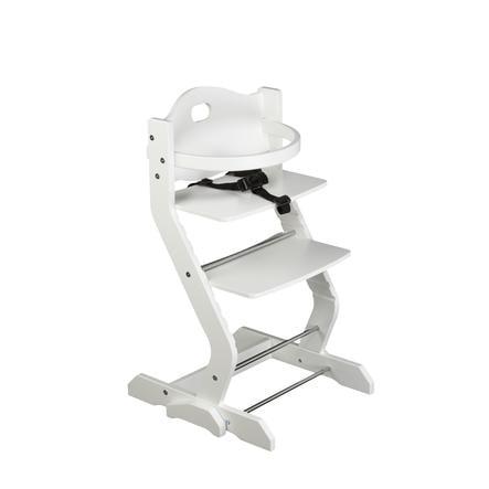 tiSsi® højstol med bøjle hvid