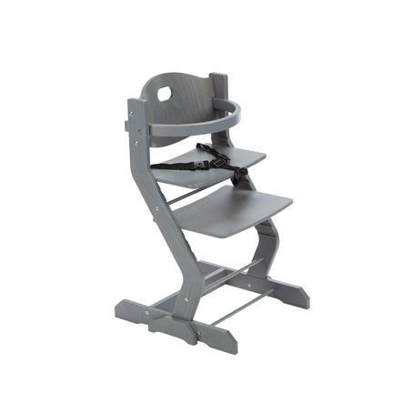 tiSsi® Syöttötuoli turvakaarella, harmaa