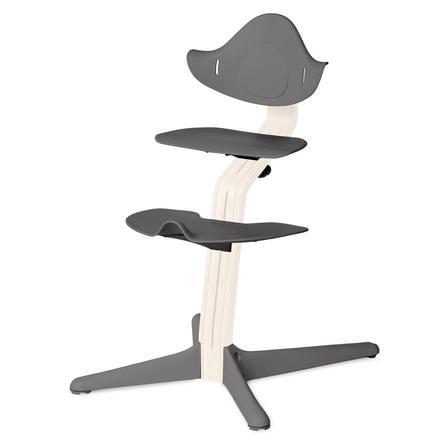 NOMI by evomove Syöttötuolin jalka- ja istuinlevyt, harmaa