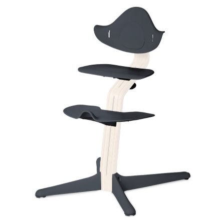 NOMI by evomove Syöttötuolin jalka- ja istuinlevyt, antrasiitti