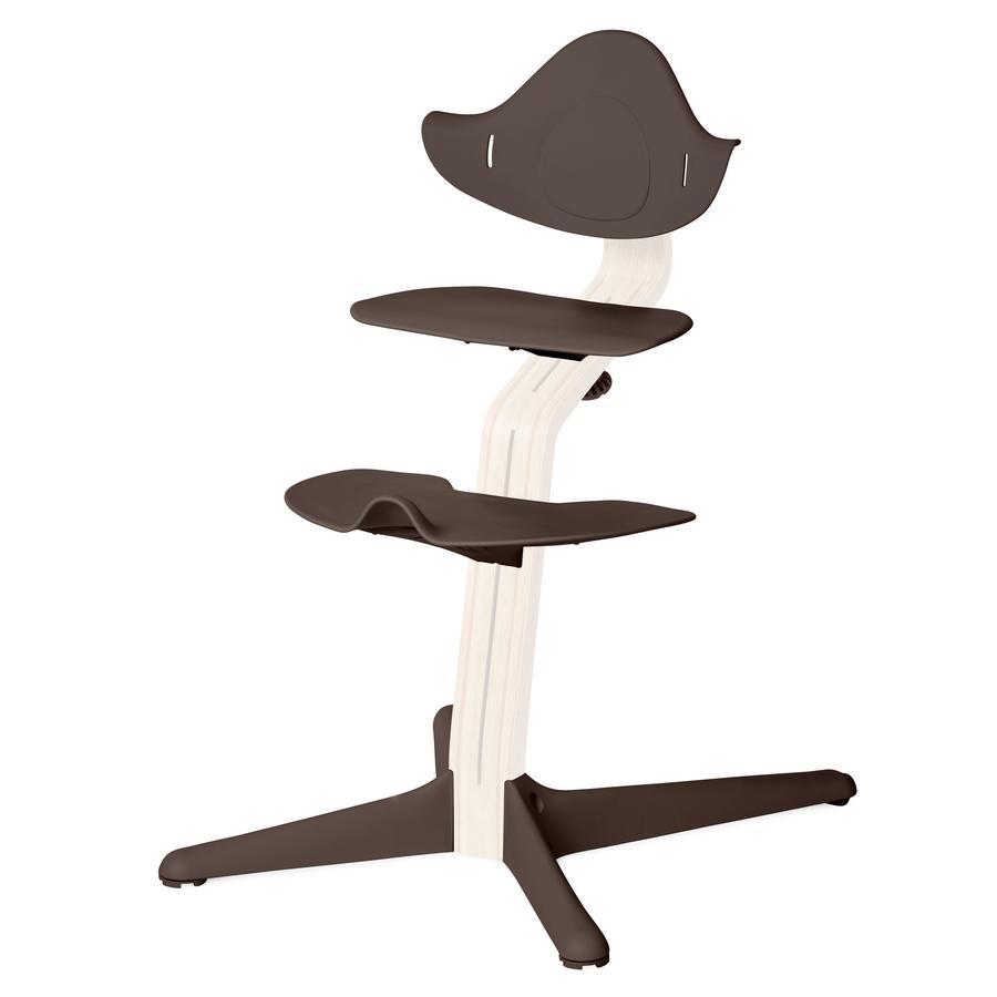 NOMI by evomove Syöttötuolin jalka- ja istuinlevyt, kahvi