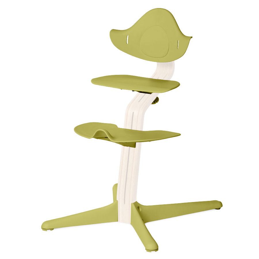 nomi by evomove Accessoires chaise haute enfant vert citron 4 pièces