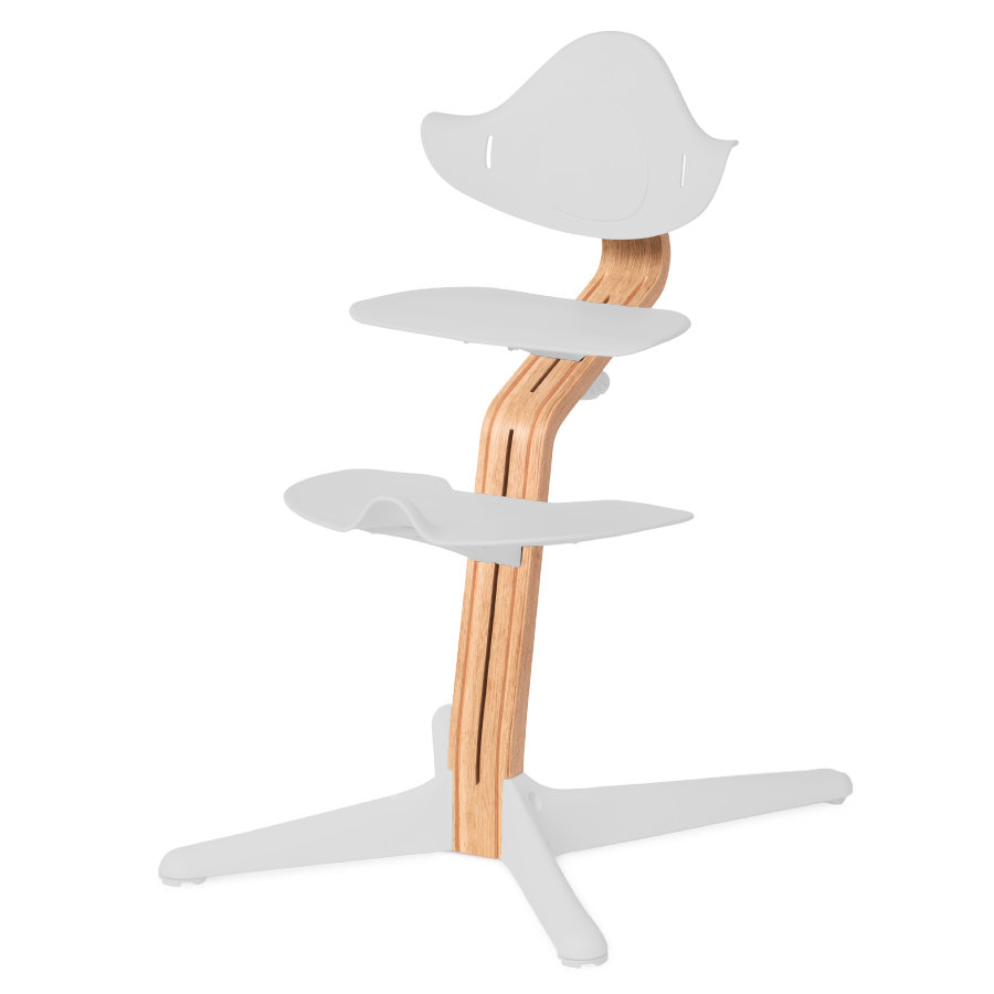 nomi by evomove Kolumna środkowa do krzesełka, dąb/naturalny