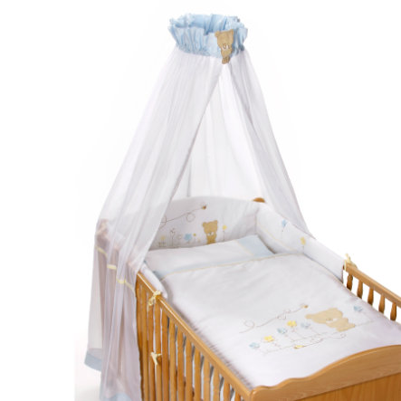 Easy Baby Parure de lit Honey bear bleu (400-41)