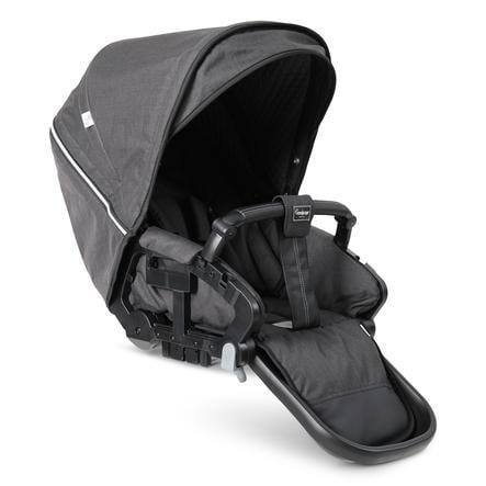 Emmaljunga Sportwagenaufsatz Flat NXT 90/60 Lounge Black