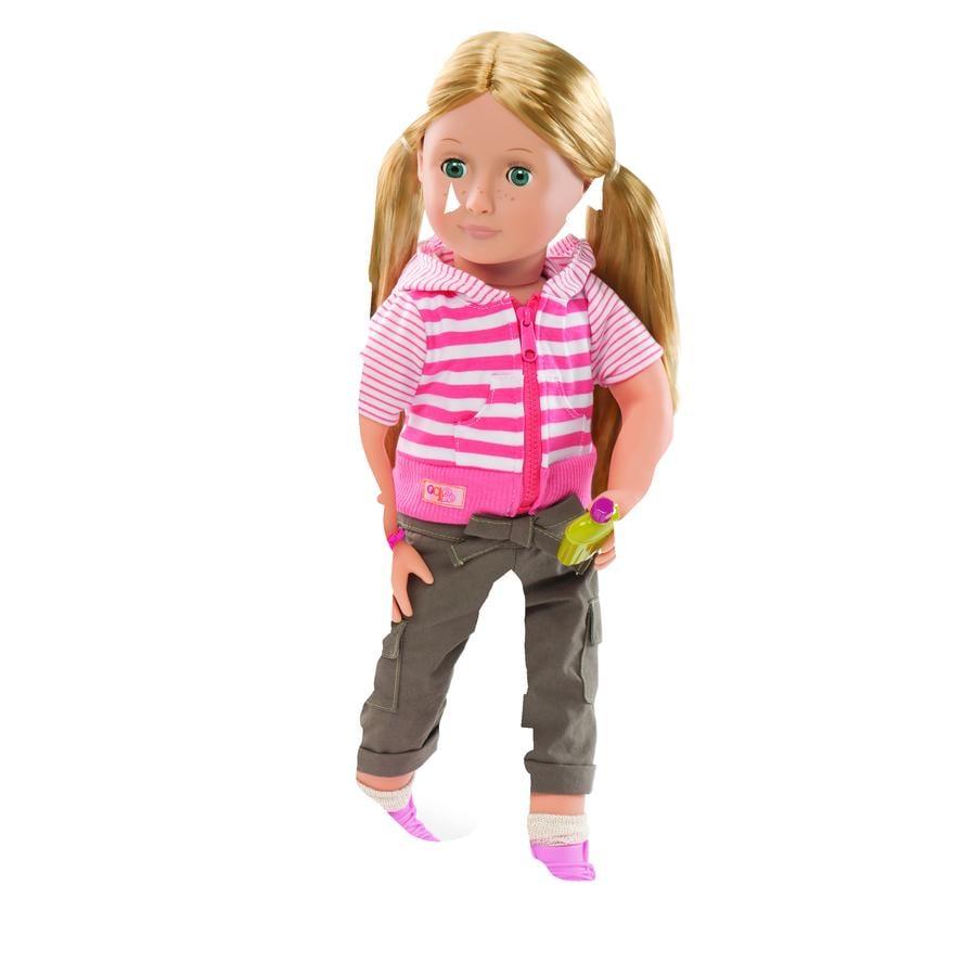 Naše generace - panenka Shannon s kempinkovým oblečením, 46 cm
